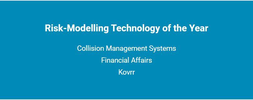 Short list of the Risk-Modelling Technology Award